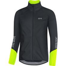 GORE C5 GTX Active Jacket-black/neon yellow-XL