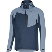 GORE C5 GTX Infinium Hybrid Hooded Jacket-deep water blue-L