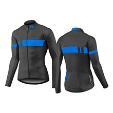 GIANT Podium LS Thermal Jersey-black/blue-M