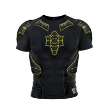 G-Form PRO-X Compression Shirt-black/yellow-XL