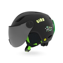 GIRO Buzz MIPS Mat Black/Bright Green Alien S