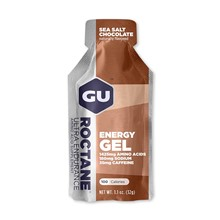 GU Roctane Energy Gel 32 g-sea salt/choco 1 SÁČEK (balení 24ks)