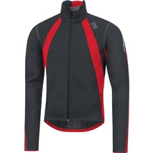 GORE Oxygen WS Jacket-black/red-L