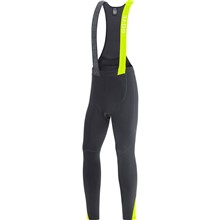 GORE C5 Thermo Bib Tights+-black/neon yellow-XL