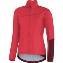 GORE C5 Women WS Thermo Jacket-bhibiscus pink/chestnut red-38