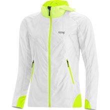 GORE R5 Women GTX Infinium Insulated Jacket-white/neon yellow-36