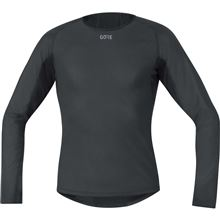 GORE M WS Base Layer Long Sleeve Shirt-black-XL