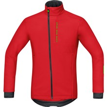GORE Power Trail WS Soft Shell Jacket-red-XL