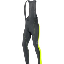 GORE Element Th Bibtights+-black/neon yellow-M