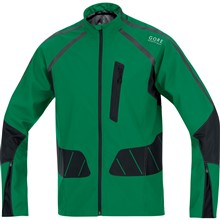 GORE X-running AS Jacket-varsity green/black-L