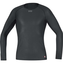 GORE Base Layer WS Shirt long-black-M