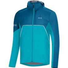 GORE R7 Partial GTX Infinium Hooded Jacket-scuba blue/sphere blue-L