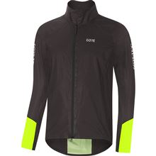 GORE C5 GTX Shakedry 1985 Viz Jacket-black/neon yellow-XL