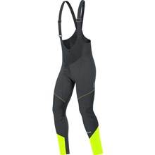 GORE Element WS SO Bibtights-blk/neon yellow-M