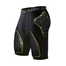 G-Form PRO-T Team Compression Shorts-black/yellow-M
