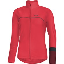 GORE C5 Women Thermo Jersey-hibiscus pink/chestnut red-38