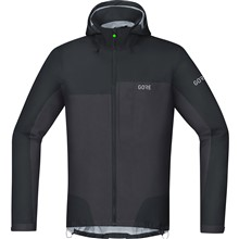 GORE C5 GTX Active Trail Hooded Jacket-black/terra grey-L
