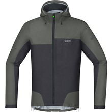 GORE C5 GTX Active Trail Hooded Jacket-castor grey/terra grey-L