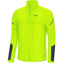 GORE M Thermo Long Sleeve Zip Shirt-neon yellow/black-XL