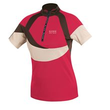 GORE Freeride Lady Jersey-light red/light beig-34