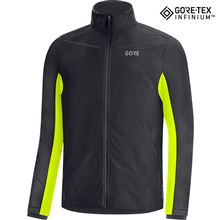 GORE R3 GTX Infinium Partial Jacket-black/neon yellow-M